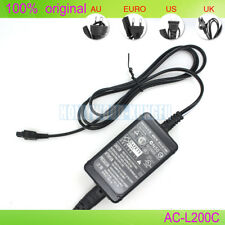 Genuine Original SONY AC-L200B AC-L200C AC-L200D AC Power Adapter CX520E XR350E