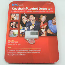 New Bactrack Keychain Alcohol Detector Silver 906721