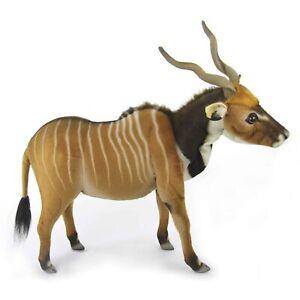 Western Giant Eland Antelope Hansa Realistic Animal Plush Toy 54cm FREE DELIVERY