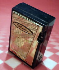 SILVERTONE TRANSISTOR RADIO 2204 - works weakly, missing back screw.