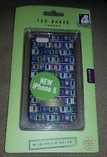 Ted Baker Hard Shell For Apple iPhone 5/S/SE - Windows Print by Proporta