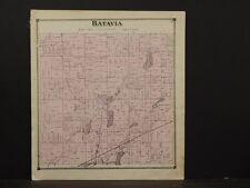 Michigan, Branch County Map, 1872, Batavia Township, Y3#43