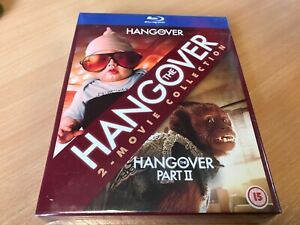 SEALED -  The Hangover/The Hangover Part II Double Pack Blu-ray