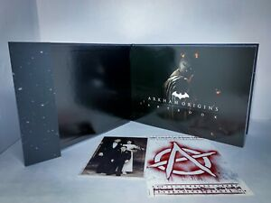 Batman: Arkham Origins Collector's Edition Art Book W/ Family Picture - (NEW)