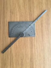 Moore And Wright No45 Adjustable Protractor