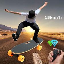 250W 15km/h Electric Skateboard Motorized Wireless Remote Control  Longboard