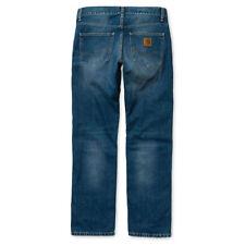 Vaqueros de hombre azul rectos 100% algodón