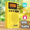 Portable Digital DAB/DAB+/FM/AM Radio Receiver Speaker Mini Pocket