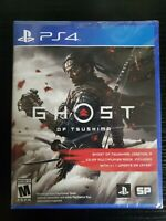 Ghost of Tsushima for PS4 New Sealed Ready to Ship Fast!