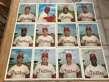 Vintage Philadelphia Phillies 1967 Color Photos Lot of 12 Rich Allen etc.