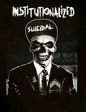 SUICIDAL TENDENCIES cd lgo INSTITUTIONALIZED SUIT Official SHIRT XL new