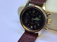 Fliegeruhr POLJOT Buran Armbanduhr Uhr Chronograph RUSSIA WATCH  Kalender