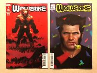 Wolverine # 1 (2020) Lot — COVER A & RAHZZAH Party Variant — NM