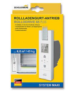 Schellenberg Rollladengurt-Antrieb RolloDrive 65 PLUS elektrischer Gurtwickler