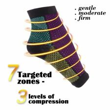 Men Women Foot Compression Sleeve Anti Fatigue Circulation Ankle Swelling Socks