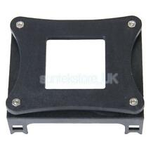 Black Plastic Retail CPU Fan Mounting Bracket Base for Socket Intel P4 478