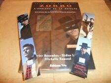 GUY WILLIAMS ZORRO CLASSIC DISNEY TV SHOW FRENCH BOOK 2 BOOKMARKS LOST IN SPACE