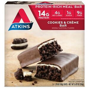Atkins Meal Bar Cookies N Creme