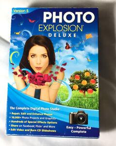 Photo Explosion Deluxe Version 5 The Complete Digital Photo Studio