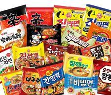 KOREAN NOODLE RAMEN Various Flavors Instant Hot 4pcs or 5pcs in A Pack Choose 1!