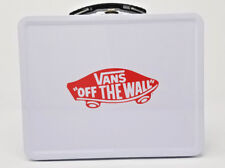 Vans Family Exclusive Off the Wall Logo Checkerboard Metal Lunchbox