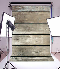 Photo Backdrop 3x5Ft Vinyl Vintage Brown Wooden Board Baby Photography