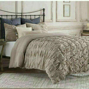 New Anthology Kendall Duvet Cover in Oatmeal Size Twin MSRP $ 79.99