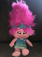 "18"" MACYS DreamWorks Trolls Girl Poppy Plush Doll Large Hasbro stuffed Big Toy"