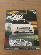 HOT WHEELS PREMIUM FAST AND FURIOUS ORIGINAL FAST VOLKSWAGEN JETTA MK3 4/5