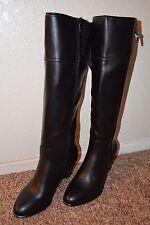 "NEW ~ ALFANI  Women BLACK Knee High Boots / Size 7 m / 3"" Heel  VERY CUTE"