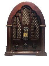 Vintage GE 1923 Replica Radio Model 7-4100JA AM/FM Cathedral Radio 1989 Antique