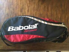 Team Babolat 6 Pack Tennis Racquet Racket Shoulder Bag Carrier Holder