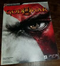 God of War III Bradygames Strategy guide never used