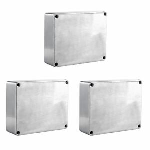 1590BB Aluminum Metal Stomp Box Case Enclosure Guitar Effect Pedal Pack of 3 V3U