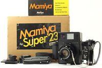 [ BOXED MINT+ ] Mamiya Press Super 23 w/ Sekor 100mm F3.5 Lens Film Back JAPAN