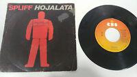 "SPLIFF HOJALATA 1982 CBS SINGLE 7"" VINILO VINYL SPANISH EDITION RARE!"
