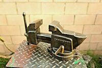 Vintage CRAFTSMAN Model 5171 Swivel Anvil Vise 4'' Jaw Made In USA 33 Lbs Vice