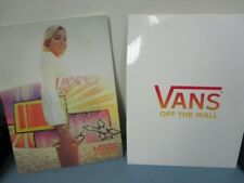 Vans surf snowboard skateboard 2009 Surf Notebook Folder New old stock