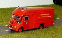Leyland Fg Van - Fire Decontamination Unit Suitable 1/76 Oxford,Hornby 00 ref gj