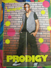 Prodigy, Mindless Behavior, Double Four Page Foldout Poster