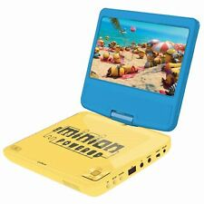 """Despicable Me Minions Lecteur DVD Portable 7 """" Écran LCD Enfants"""