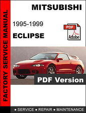 automotive pdf manual ebay stores rh ebay com 1995 Mitsubishi Eclipse GSX 1999 Mitsubishi Eclipse