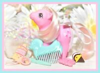 ❤️My Little Pony G1 First Tooth Baby Lickety Split NEAR COMPLETE Accessories❤️