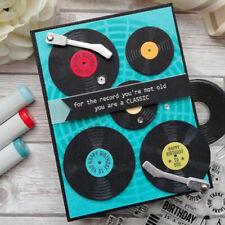 Phonograph Metal Cutting Dies Stamps Stencil Scrapbooking Photo Album Embossing