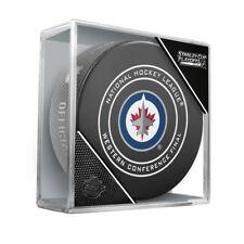 2018 NHL Western Conf. Final Winnipeg Jets Stanley Cup Playoffs Game Hockey Puck