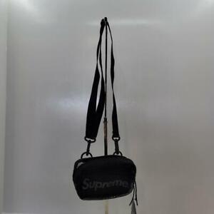 NWT SUPREME SS20 Authentic PVC Mesh & Nylon Small Shoulder Bag Cordura Fabric