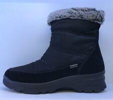 Imac Ladies Black Snow Boots Eu 36