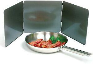 Kitchen Anti Splatter Shield Guard For Stove Bacon Grease Frying Splash Screen