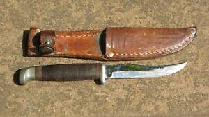 1970's~CASE XX USA 323-3 1/4 VINTAGE  HUNTING KNIFE w/ORIG. SHEATH
