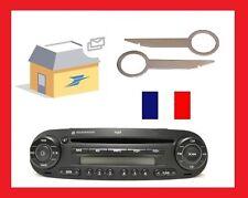 2 Clés clef d'extraction autoradio casette et cd démontage VW NEW BEETLE